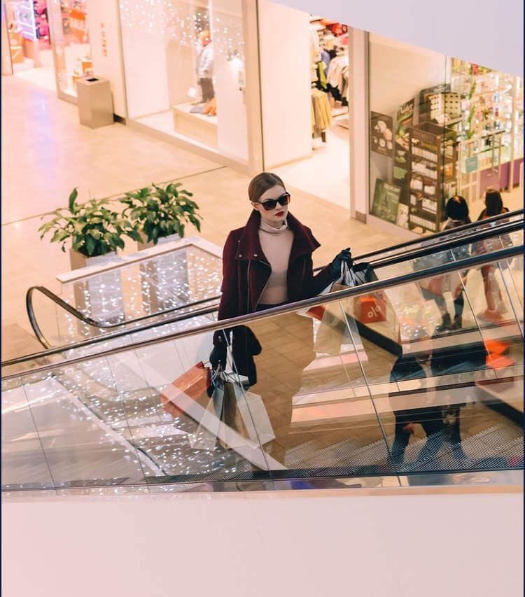 Visita al centro comercial