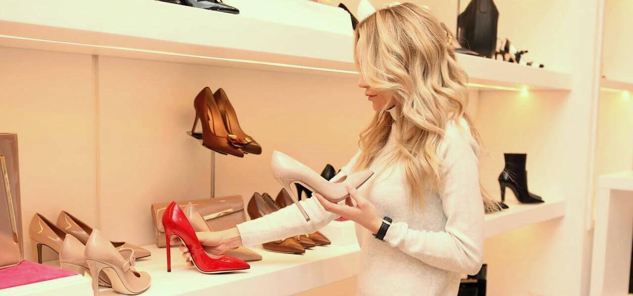 Atracción por los zapatos nuevos